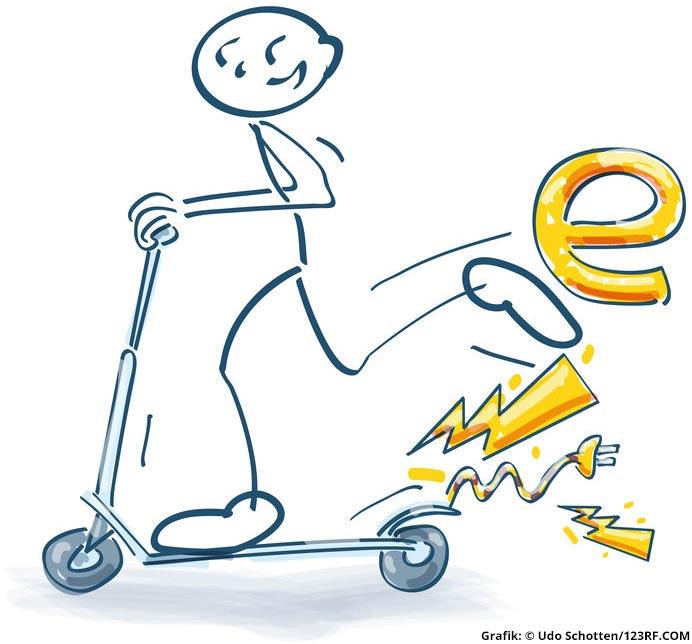 E-Roller für Kinder